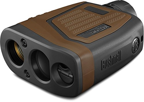 Bushnell Hunting Series Elite 1 Mile Con-X Horz Bluet Arc Vdt Esp Wp Box 6L Laser Rangefinders, 7 X 26, Brown