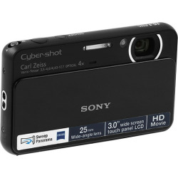 Sony Cyber-shot DSC-T110 Digital Camera – Black (Scratch 'n' Dent)
