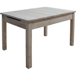 Table with Lift Up Top For Storage – International Concepts, Wood