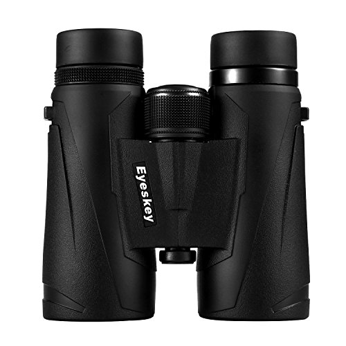 Eyeskey 10×42 Professional Waterproof Binoculars, Best Choice for Travelling, Hunting, Sports Games and Outdoor Activities, Extremely Clear and Bright