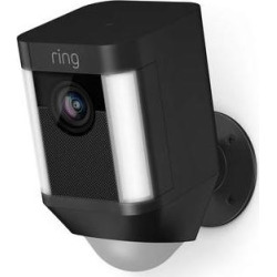 Ring Spotlight Cam 1080p Outdoor Wi-Fi Camera with Night 8SB1S7-BEN0