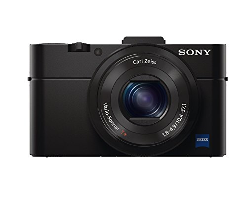Sony RX100 II 20.2 MP Premium Compact Digital Camera w/1-inch sensor, MI (Multi-Interface) shoe and tilt LCD screen (DSCRX100M2/B)