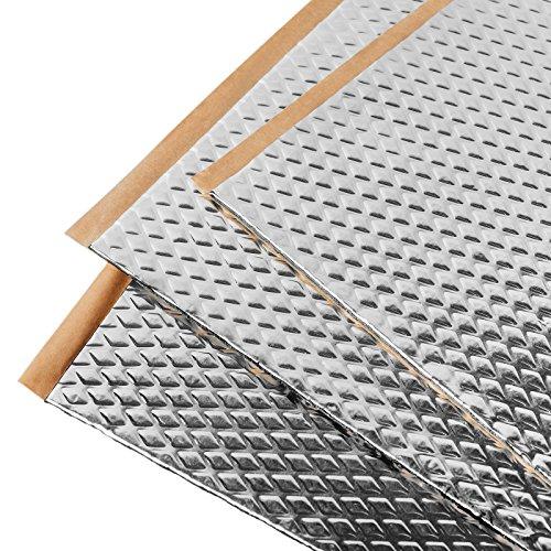 Noico 80 mil 36 sqft car Sound deadening mat, butyl automotive Sound Deadener, audio Noise Insulation and dampening