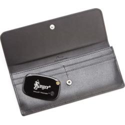 Royce Leather Rfid-Blocking Freedom Wallet & GPS Tracker, Adult Unisex, Black