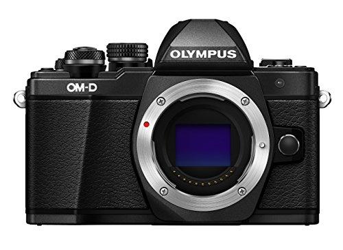 Olympus OM-D E-M10 Mark II Mirrorless Digital Camera (Black) – Body only