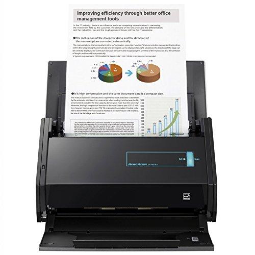 Fujitsu ScanSnap iX500 Color Duplex Desk Scanner for Mac and PC