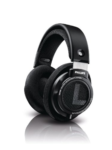 Philips SHP9500S HiFi Precision Stereo Over-ear Headphones (Black)