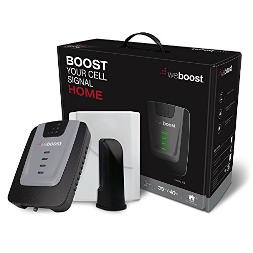 weBoost Home 4G 470101 Cell Phone Signal Booster for Home and Office – Enhance Your Cell Phone Signal up to 32x