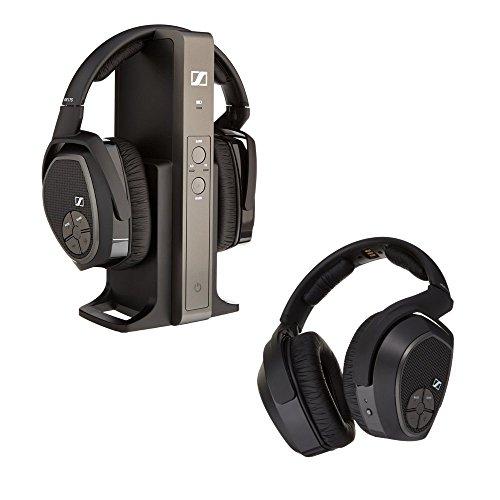 Sennheiser RS 175 RF Wireless Headphone System and Sennheiser HDR 175 Accessory RF Wireless Headphone Bundle