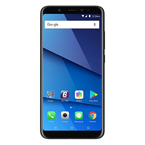 "BLU Vivo XL3 Plus – 6.0"" HD+18:9 Display Smartphone with Qualcomm Snapdragon – Black"