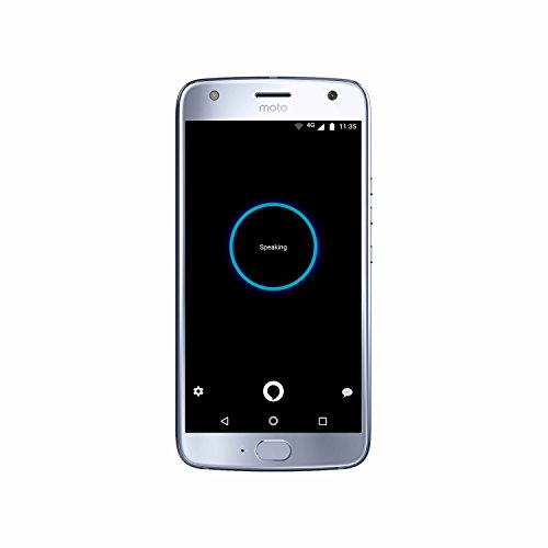 Moto X (4th Generation) – with hands-free Amazon Alexa – 32 GB – Unlocked – Sterling Blue – Prime Exclusive