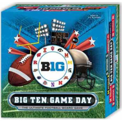Big Ten Game Day The Ultimate Football Board Game by Fremont Die, Multicolor