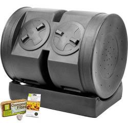 Good Ideas Compost Wizard Dual Senior Starter Kit – Black