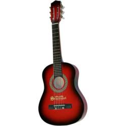 Schoenhut Junior 6-String Acoustic Guitar, Multicolor
