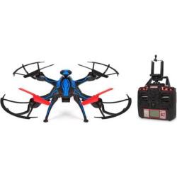 Venom Live Feed HD Camera GPS Drone 2.4GHz 4.5CH Picture/Video Camera RC Quadcopter, Multicolor