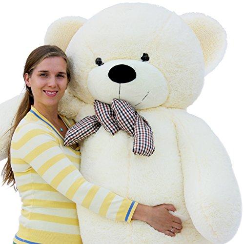 Joyfay Giant Teddy Bear 78″(6.5 Feet) White