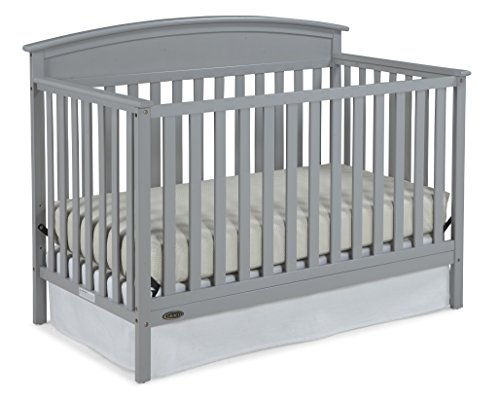 Graco Benton 5-in-1 Convertible Crib, Pebble Gray