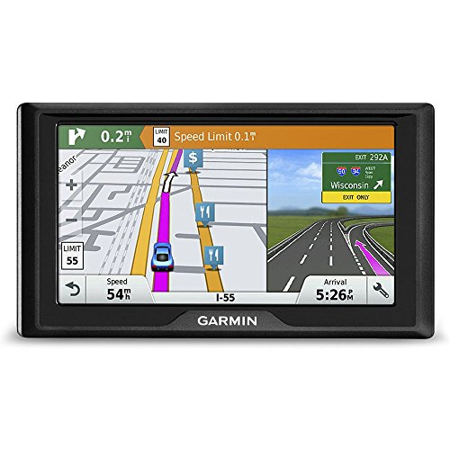 Garmin Drive 60 USA LMT GPS Navigator System with Lifetime Maps and Traffic, Driver Alerts, Direct Access, and Foursquare data