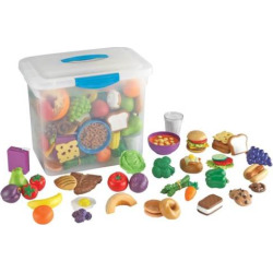 Learning Resources New Sprouts Classroom Play Food Set, Multicolor