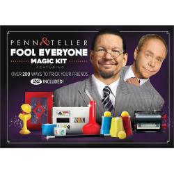 Penn & Teller Fool Everyone Magic Kit by Fun Inc, Multicolor