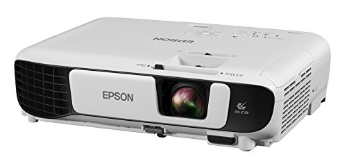 Epson EX5260 XGA 3,600 lumens color brightness (color light output) 3,600 lumens white brightness (white light output) wireless HDMI 3LCD projector