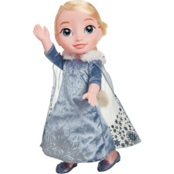 Disney Princess Frozen Elsa Holiday Doll, Multicolor