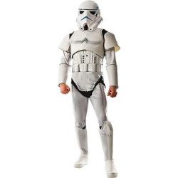 Star Wars Men's Deluxe Stormtrooper Costume – M, Multicolored