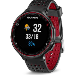 Garmin Forerunner 235 Smartwatch, Red