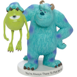 Disney / Pixar Monsters, Inc. Mike & Sully Figurine by Precious Moments, Multicolor