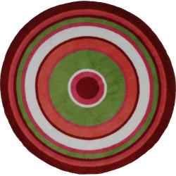 Fun Rugs Fun Time Concentric 3 Rug, Multicolor