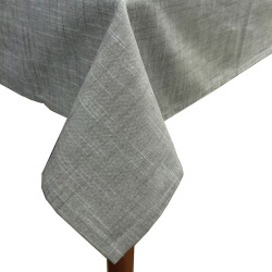 Food Network™ Farmhouse Linen Tablecloth, Grey
