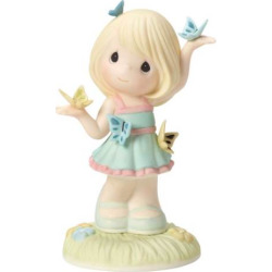 Precious Moments Beauty Comes With Change Girl Figurine, Multicolor
