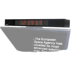 Autocue/QTV Digital Clock Display for Master/Professional Series MT-CLOCK/LTCVITC
