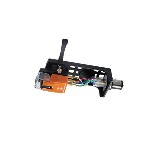 Audio-Technica AT120Eb/HSB Headshell/Cartridge Combo Kit (AT120Eb Cartridge and AT-HS10BK Headshell)