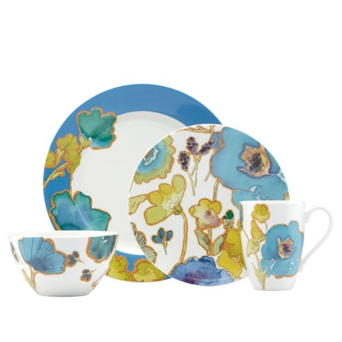 lenox floral fusion blue 20 piece set - Allshopathome-Best Price Comparison Website,Compare Prices & Save