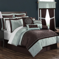 Lenox 16-pc. Bed Set, Brown