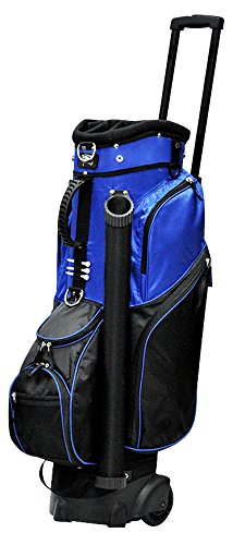 RJ Sports Spinner Transport Bag, 9.5″, Royal