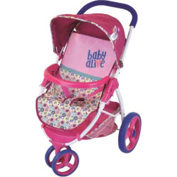 Baby Alive Lifestyle Doll Stroller, Multicolor