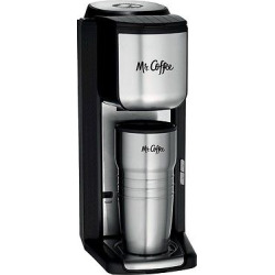 Mr. Coffee Single Cup Coffee Maker – Bvmc-SCGB200, Silver