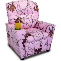 kids recliner with cup holder lifestyle pink mossy oak nativ living - Allshopathome-Best Price Comparison Website,Compare Prices & Save