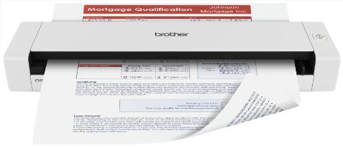 Brother Mobile Color Page Scanner, DS-720D, Fast Scanning, Compact and Lightweight, Duplex Scanning