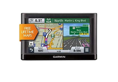 Garmin nüvi 66LM GPS Navigators System with Spoken Turn-By-Turn Directions, Preloaded Maps and Speed Limit Displays (USA and Canada) (Certified Refurbished)