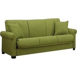 Robert Convert-a-Couch – Apple Green – Handy Living, Green Apple
