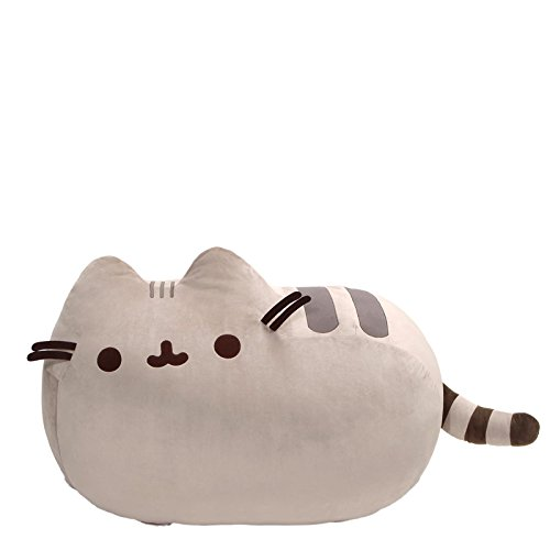 GUND Pusheen Cat Super Jumbo Plush Stuffed Animal, Gray, 41″