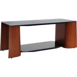 Wood/Glass Ladder Coffee Table Brown – LumiSource