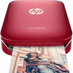 HP Sprocket Photo Printer – Red