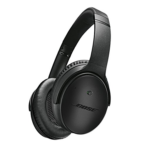 Bose QuietComfort 25 Acoustic Noise Cancelling Headphones for Apple Devices, Triple Black (wired, 3.5mm)