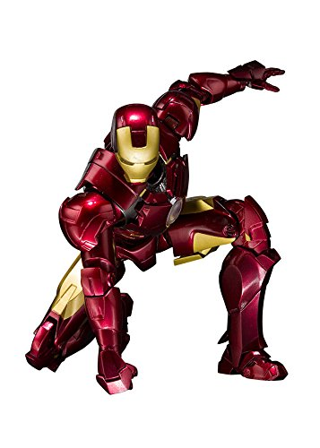 Bandai Tamashii Nations S.H. Figuarts Iron Man Mark 4 and Hall of Armor Set Action Figure