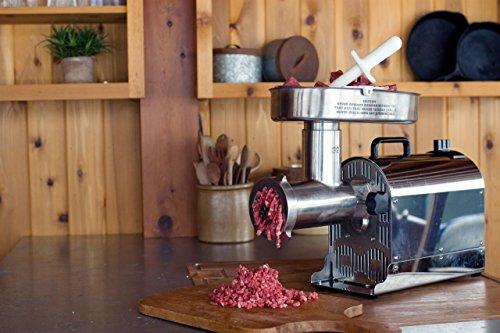 Weston (10-3201-W)  Pro Series Electric Meat Grinders (2 HP, 1500 Watts) – Silver