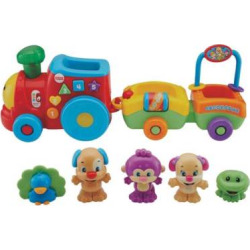 Fisher-Price Laugh & Learn Smart Stages Puppy & Pals Train Gift Set, Multicolor